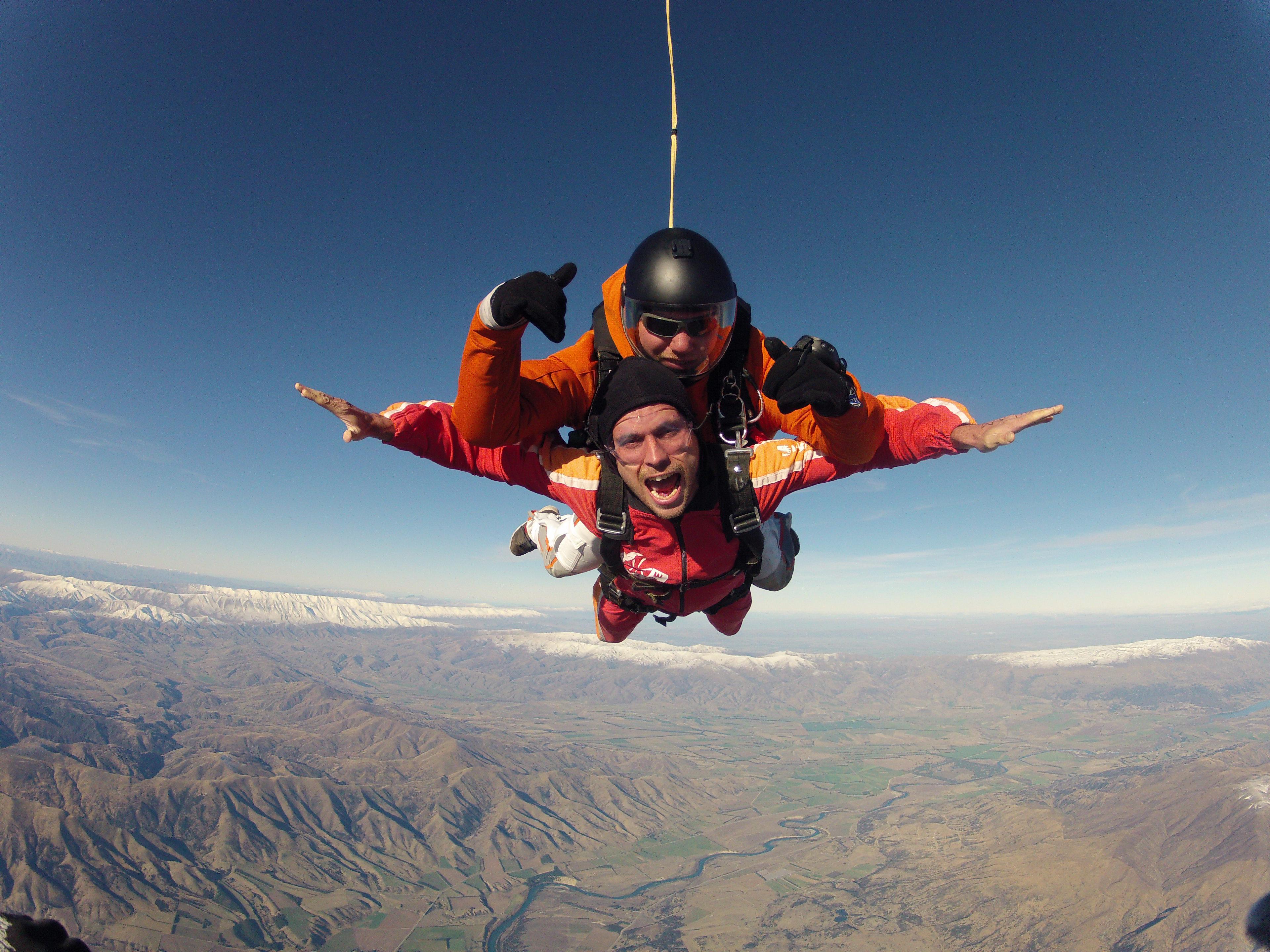 Wanaka Sky Dive, New Zealand