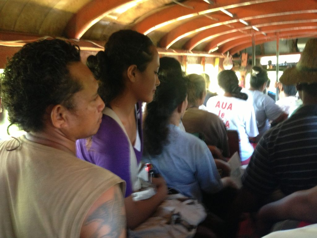 Bus Courtesy American Samoa