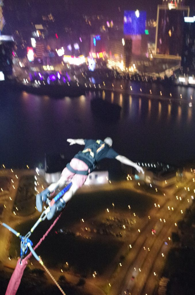 Bungee Jump, Macau Tower.