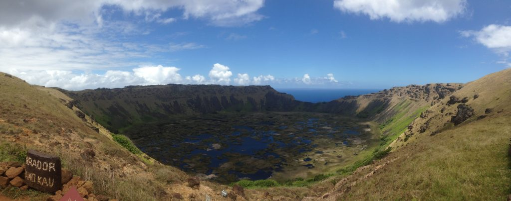 volcano rapa nui