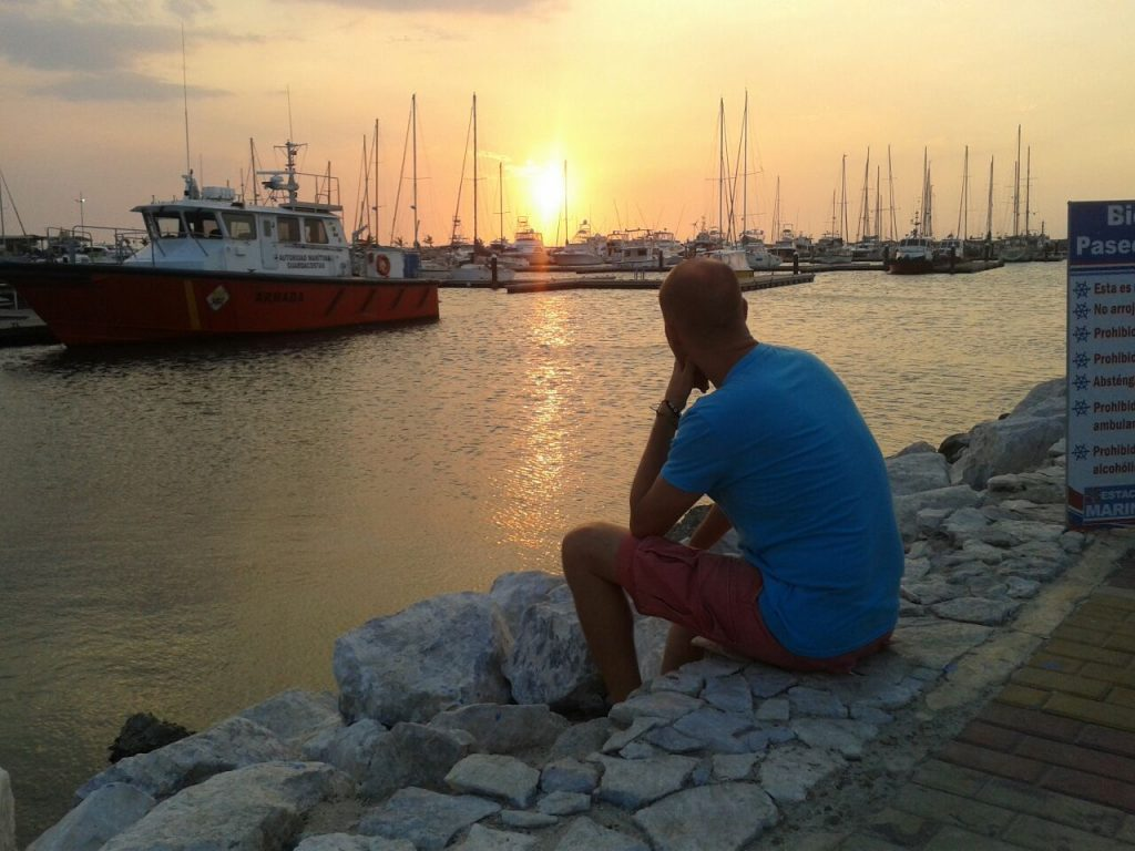 Sunsets in Santa Marta are beautiful, these gorgeous red skies a common view. Perfect way to wind down a hard day's hustling.