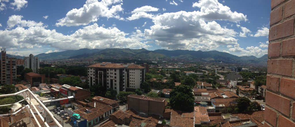 View from one of the apartments I stayed in when I lived in Medellin - not too shabby.