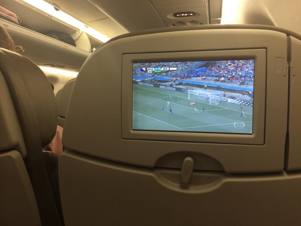 LAN Airlines football TV