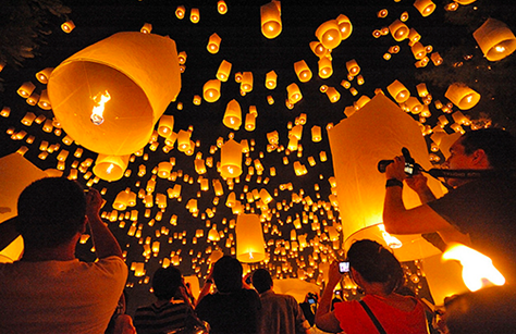 Loy Krathong Festival, Chiang Mai