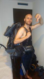 Backpack wanker
