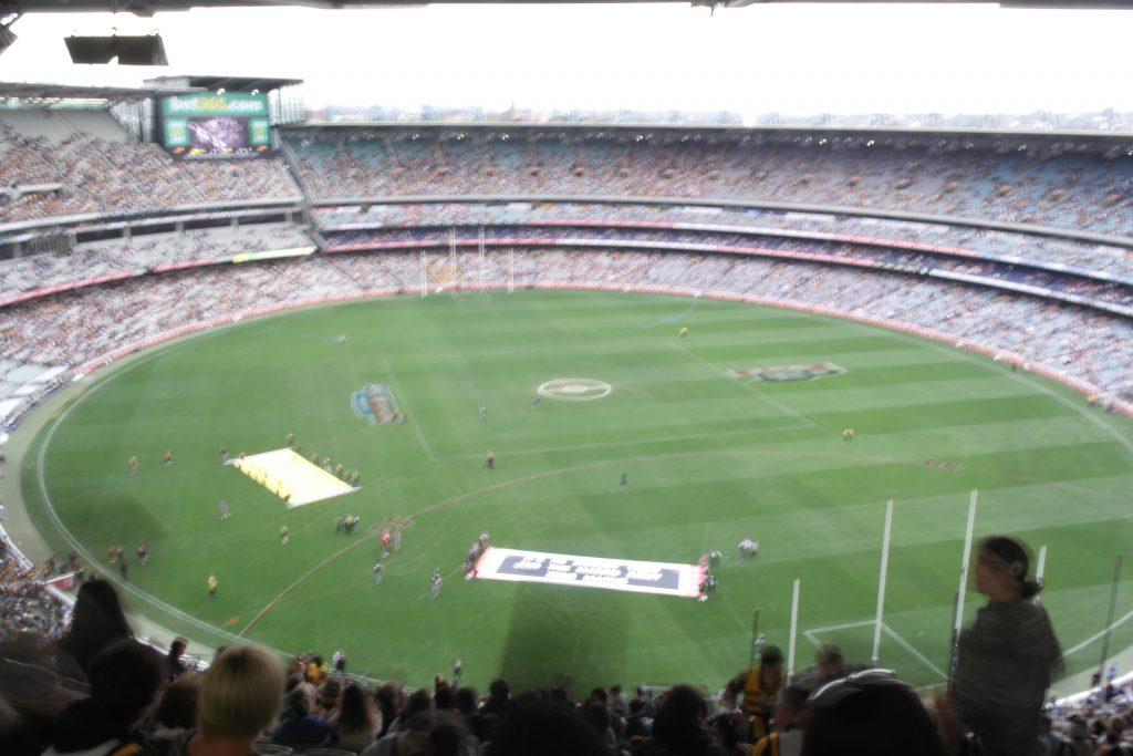 Melbourne Cricket Ground, Australia.