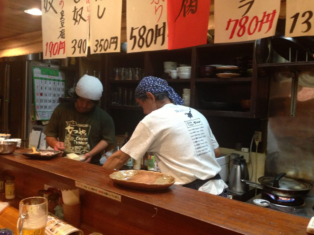 Cooking in Japan