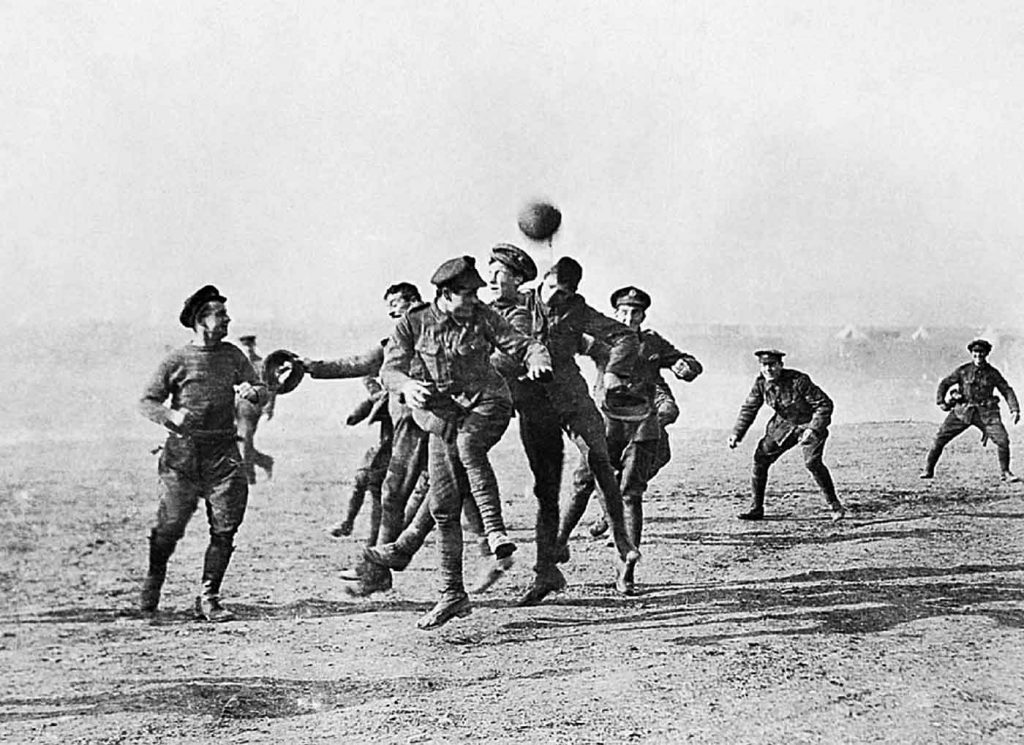 Ypres football truce