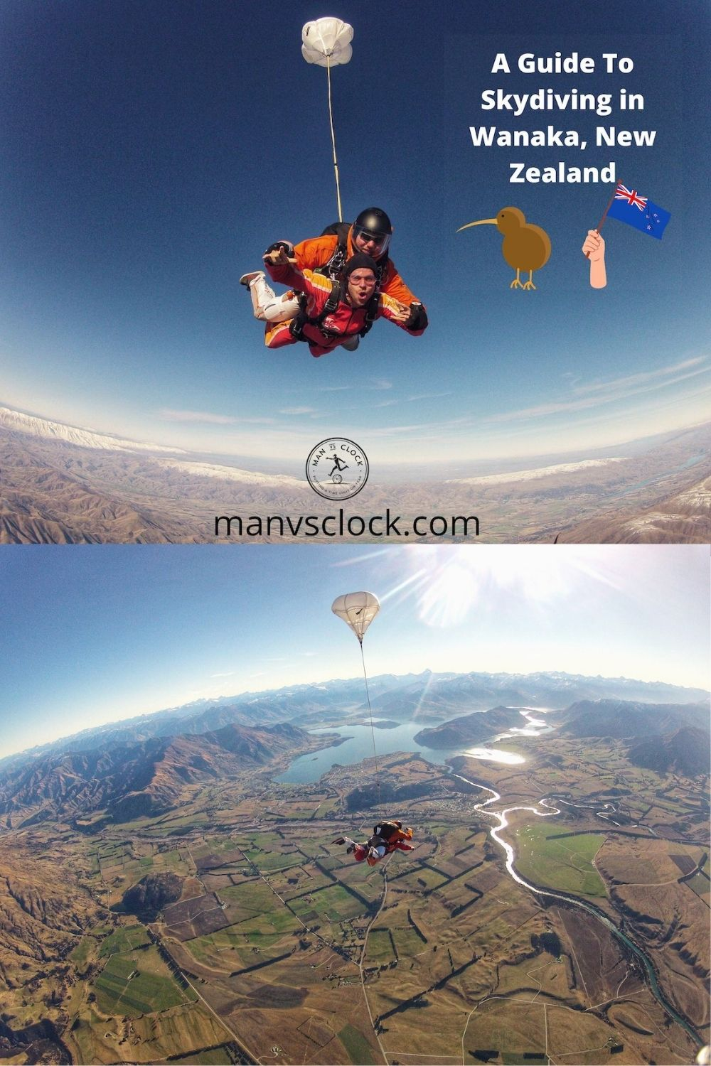 A guide to skydiving in Wanaka, New Zealand