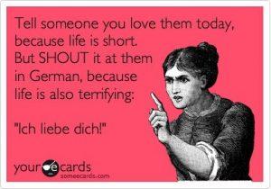 I Love You German