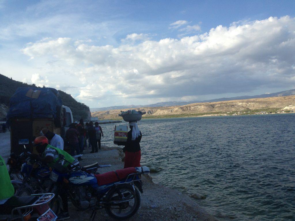 Crossing border Dominican Republic to Haiti