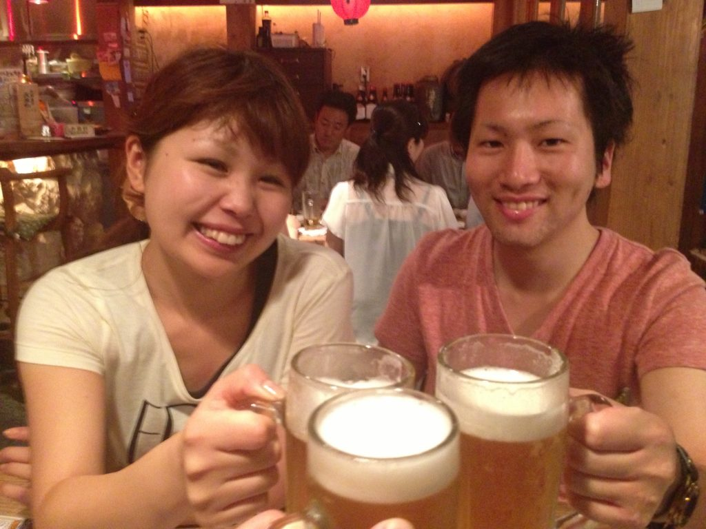 I stayed with these beautiful people in Tokyo free of charge after chatting on the plane to Okinawa. :)