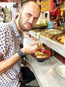 Stinky tofu Taipei