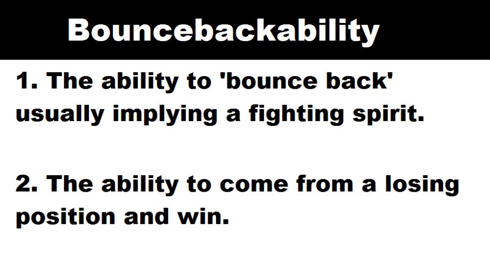 Bouncebackability